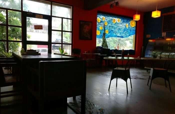 Cafe Basil View