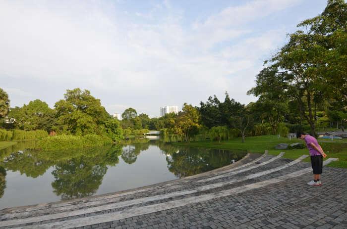 Singapore housing colony