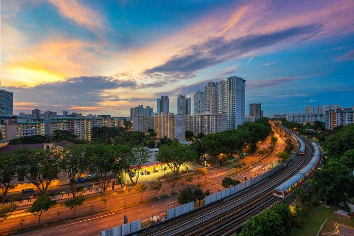 LRT Station Singapore
