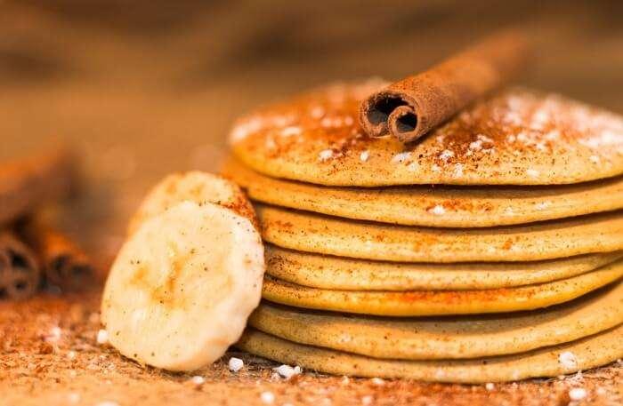 Cinnamon Pancake Sweetness Eat Pancakes Dessert