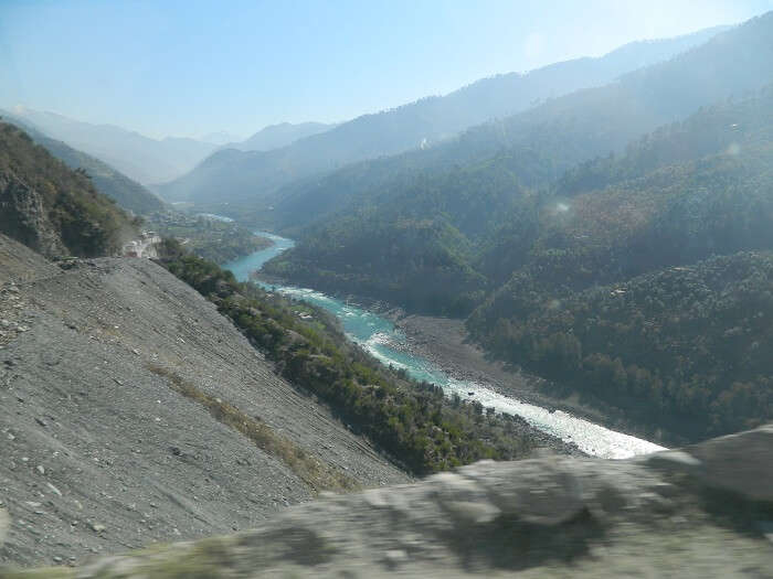 Chinav River on the way to Srinagar