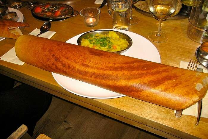 huge dosa in Bangalore