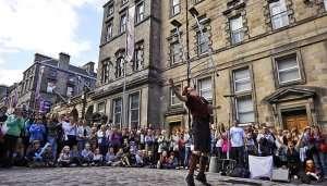 Edinburgh Fringe Festival in UK
