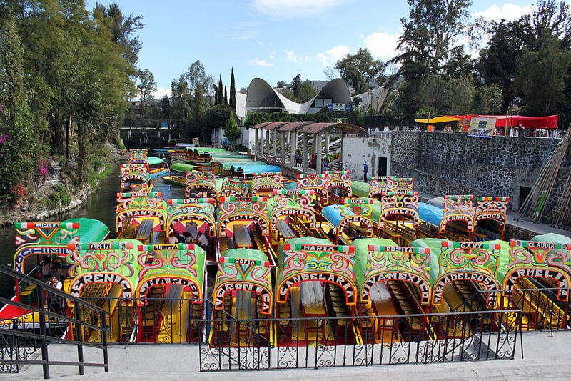 Floating Gardens Of Xochimilco