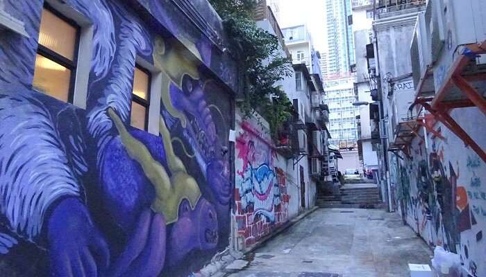Graffitti Wall Hong Kong