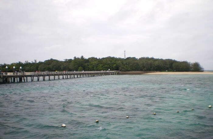 Green Island In Queensland