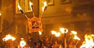 Guy Fawkes Day in UK