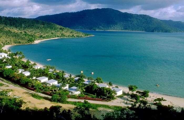 Hayman Island View