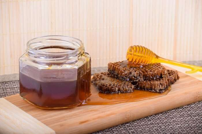 Food Honeycomb Healthy Table Honey Organic Raw