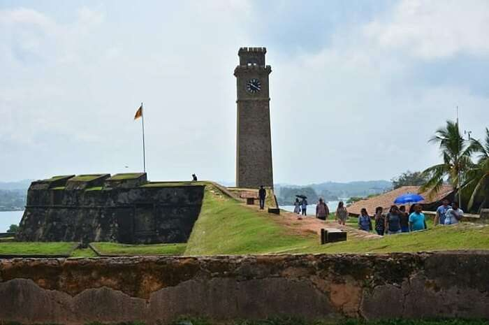 at the galle fort