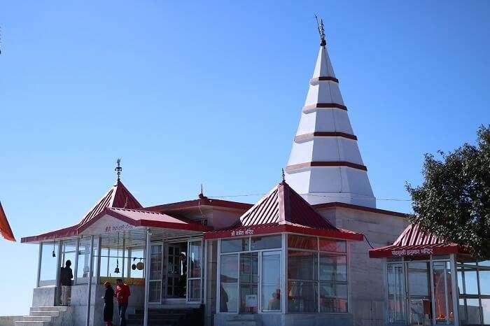 Kali Tibba Temple in Chail