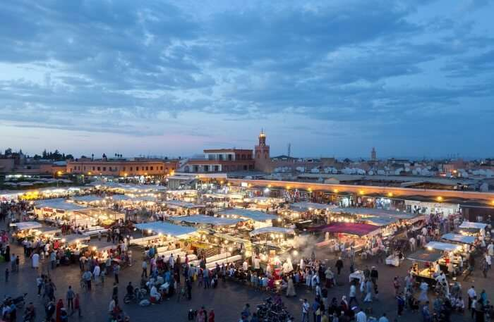 Jemaa El-Fnaa Nightlife