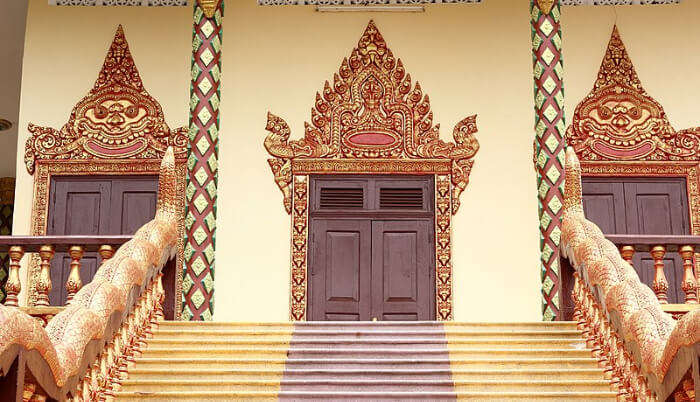 Leu Pagoda in Cambodia