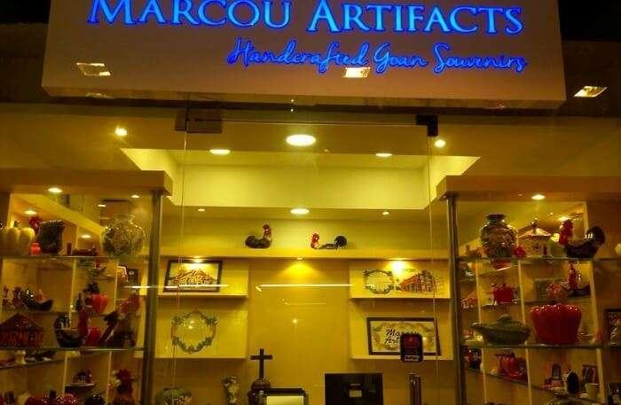 Marcou Artifacts