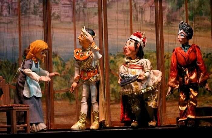 Marionette Theatre In Salzburg
