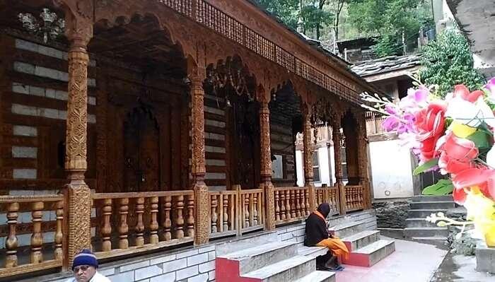 Naina Bhagwati Temple In Manikaran