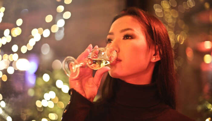 Women Drinking in Nightclubs