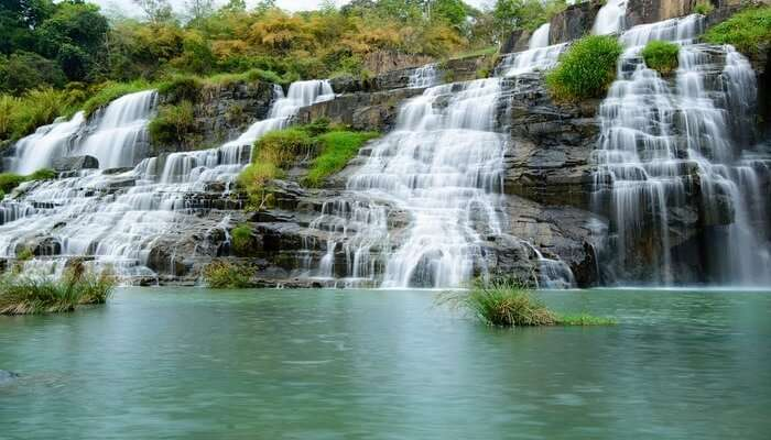 Pongour Waterfall View