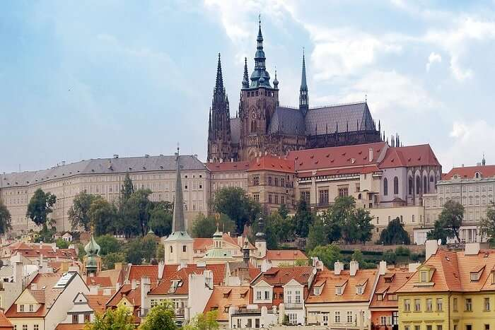 famous castle in Prague