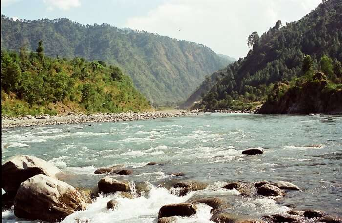 Ravi River in Himachal Pradesh