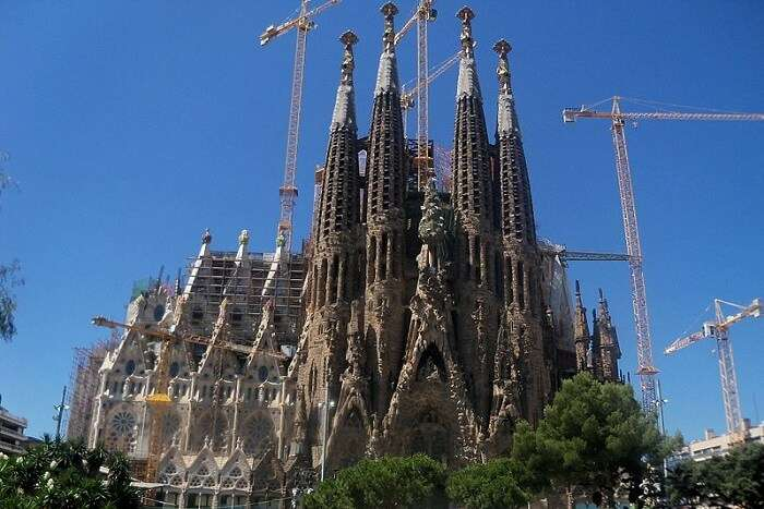 famous building in Barcelona