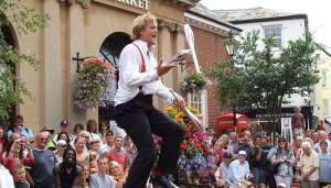 Sidmouth Folk Festival in UK