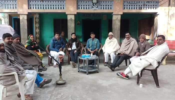 Nain Kheri village locals