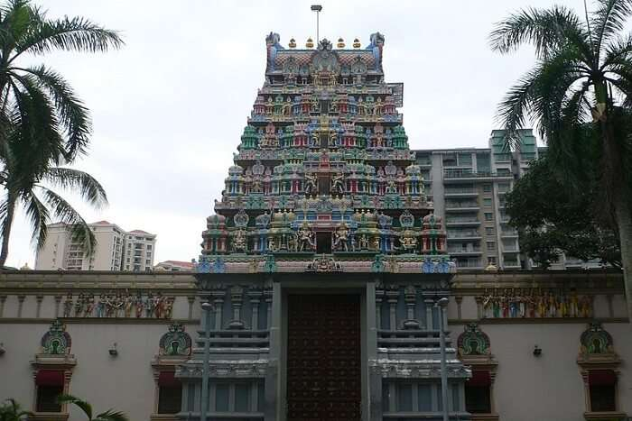 famous temple in Singapore