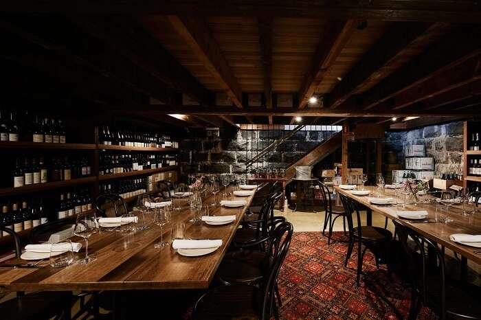inner view of restaurant