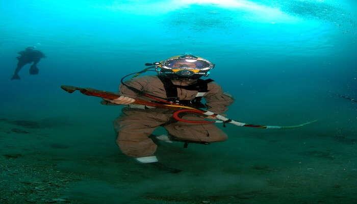Underwater Sea Walking