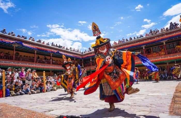 Hemis Festival celebration