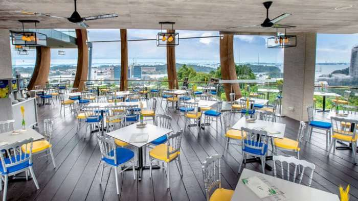 fine dining interiors of arbora