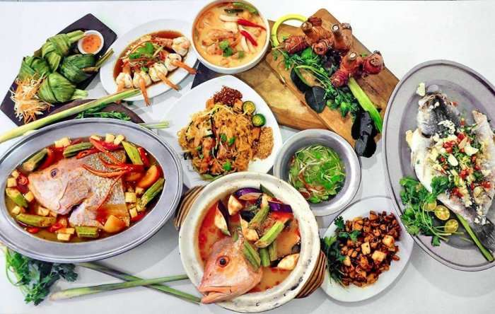 delicious thai cuisines in magic wok