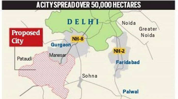 new city plan next to gurgaon