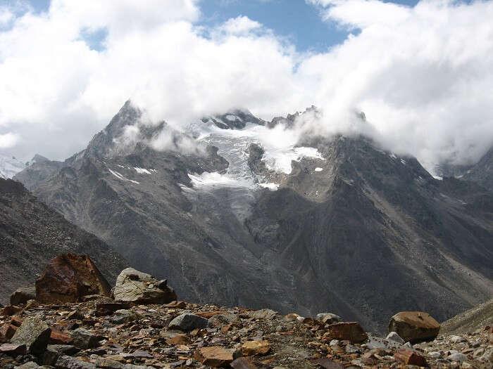 mountains pin parvati