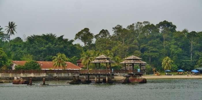 Pulau Ubin view