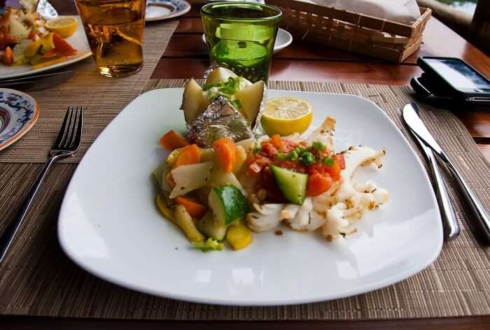 mauritian dish on table