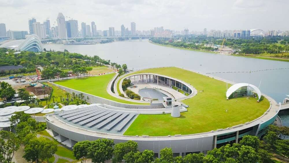 marina barrage Singapore cover