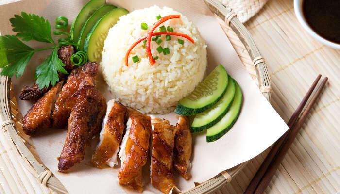 singaporean Chicken Rice