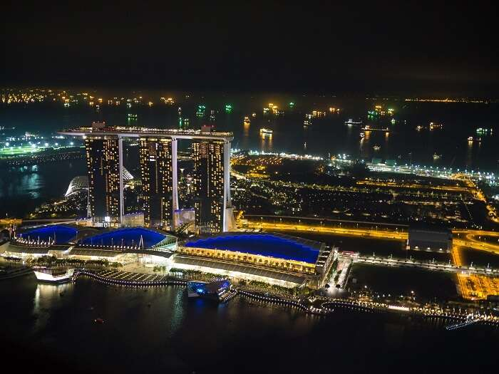 View from Altitude Bar, Singapore