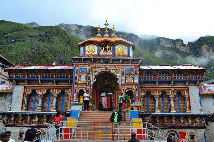 Saligram idol of Lord Badri