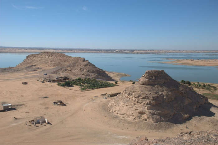 Great spots for basking under the sun and watching the Nubian way of life