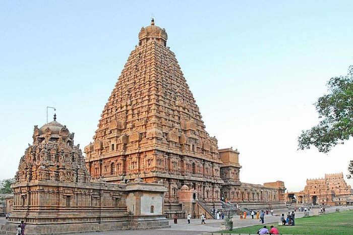Brihadisvara Temple At Thanjavur 1