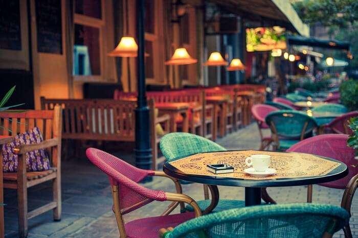terrace cafe