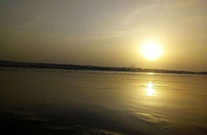 Dandi Beach In Gujarat