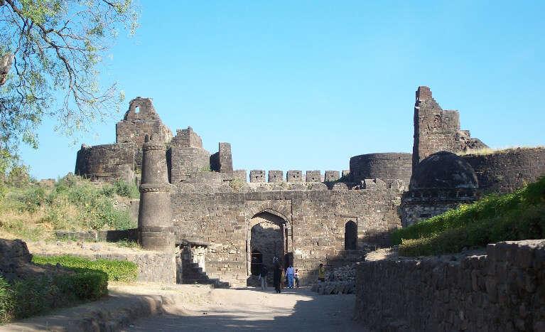 The triangular fort of Devagiri