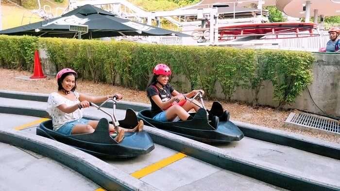 enjoyed the roller coaster ride