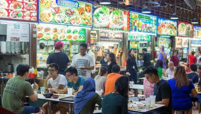 Eat At Hawker Centre