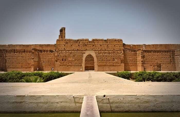 El Badi Palace In Marrakech