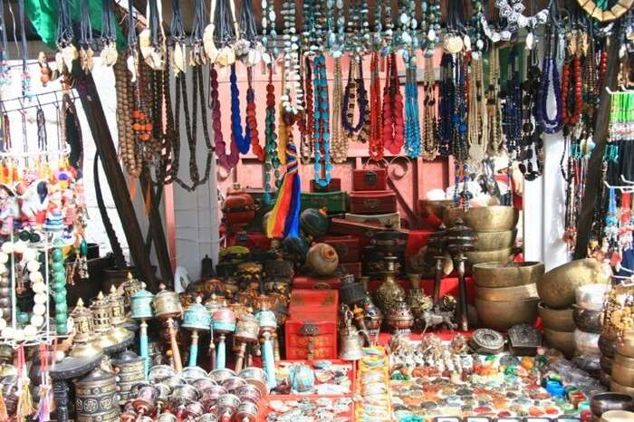 Ghoom Monastery Market